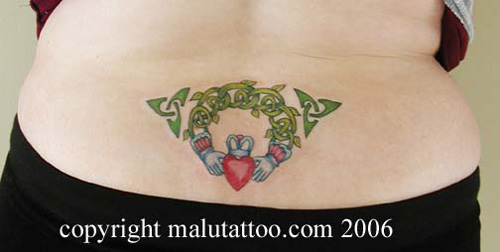 irish claddagh tattoos. 2010 Irish Claddagh Tattoo. irish claddagh tattoo design.