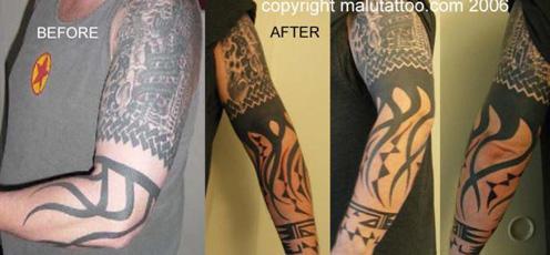 Native American Tribal Tattoo Sleeves