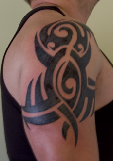 Tribal Tattoo Shoulder